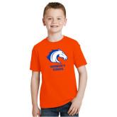 Youth Orange T Shirt-Womens Tennis