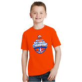 Youth Orange T Shirt-Movin Mavs NWBA National Champions