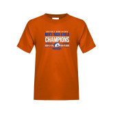 Youth Orange T Shirt-2017 Mens Track and Field Champions