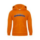 Youth Orange Fleece Hood-UT Arlington Mavericks