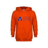 Youth Orange Fleece Hoodie-University of Texas Arlington