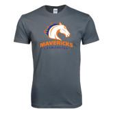 Next Level SoftStyle Charcoal T Shirt-Mavericks