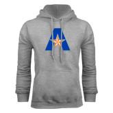 Grey Fleece Hood-A with Star