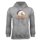Grey Fleece Hood-Mavericks
