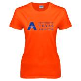 Ladies Orange T Shirt-Secondary Mark