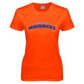 Ladies Orange T Shirt-UT Arlington Mavericks