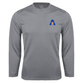 Syntrel Performance Steel Longsleeve Shirt-A with Star