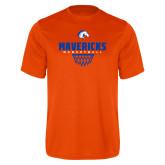 Performance Orange Tee-Basketball Net