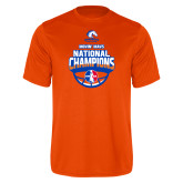 Performance Orange Tee-Movin Mavs NWBA National Champions