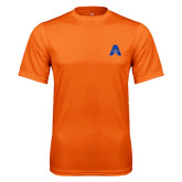 Performance Orange Tee-A with Star