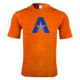Performance Orange Heather Contender Tee-A with Star
