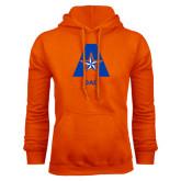 Orange Fleece Hood-Dad