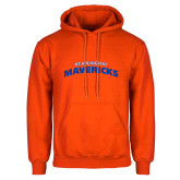 Orange Fleece Hoodie-UTA Mavericks stacked
