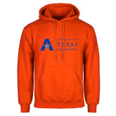 Orange Fleece Hoodie-University of Texas Arlington
