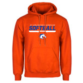 Orange Fleece Hoodie-Softball Shelf