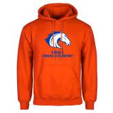Orange Fleece Hoodie-Mens Cross Country