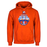 Orange Fleece Hoodie-Movin Mavs NWBA National Champions