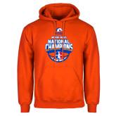 Orange Fleece Hoodie-Movin Mavs NWBA National Champions