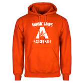 Orange Fleece Hoodie-Wheelchair Basketball