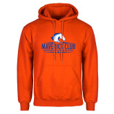 Orange Fleece Hoodie-Maverick Club