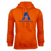 Orange Fleece Hood-Mens Basketball