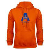 Orange Fleece Hood-Baseball