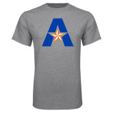 Grey T Shirt-A with Star
