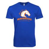 Next Level SoftStyle Royal T Shirt-Mavericks