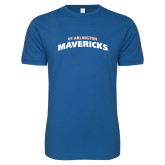 Next Level SoftStyle Royal T Shirt-UTA Mavericks stacked