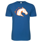 Next Level SoftStyle Royal T Shirt-Horse Head