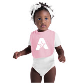 Light Pink Baby Bib-A with Star