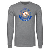 Grey Long Sleeve T Shirt-Athletic Alumni
