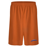 Performance Classic Orange 9 Inch Short-UTA Mavericks stacked