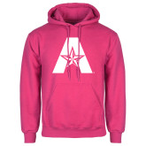 Fuchsia Fleece Hoodie-A with Star