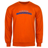 Orange Fleece Crew-UTA Mavericks stacked