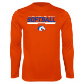 Performance Orange Longsleeve Shirt-Softball Shelf