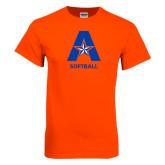 Orange T Shirt-Softball