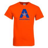Orange T Shirt-Volleyball