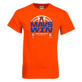 Orange T Shirt-Mavs Win