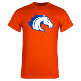 Orange T Shirt-Horse Head