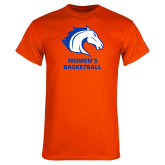 Orange T Shirt-Mens Basketball