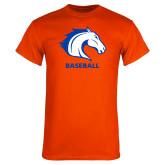 Orange T Shirt-Baseball