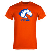 Orange T Shirt-Softball