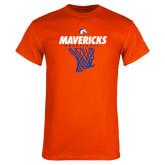 Orange T Shirt-Basketball Hanging Net