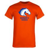Orange T Shirt-Womens Tennis
