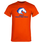 Orange T Shirt-Mens Track and Field