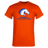 Orange T Shirt-Womens Track and Field