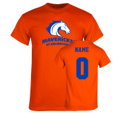 Orange T Shirt-Primary Mark, Custom Tee w/ Name and #
