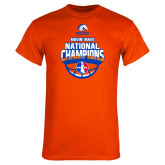 Orange T Shirt-Movin Mavs NWBA National Champions