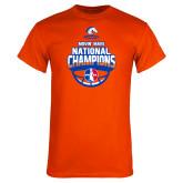 Orange T Shirt-Movin Mavs NWBA National Champions